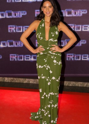 Olivia Munn: Robocop Premiere -02