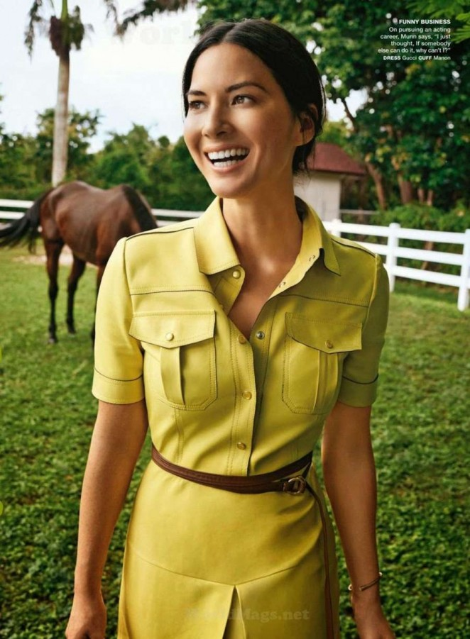 Olivia Munn - Self USA Magazine (November 2014)