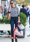 Olivia Munn in tight jeans shopping in New York City -02