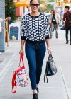 Olivia Munn in tight jeans shopping in New York City -05