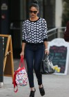 Olivia Munn in tight jeans shopping in New York City -09