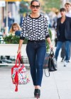 Olivia Munn in tight jeans shopping in New York City -13