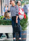 Olivia Munn in tight jeans shopping in New York City -15