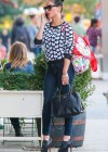 Olivia Munn in tight jeans shopping in New York City -16