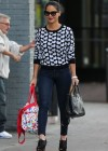 Olivia Munn in tight jeans shopping in New York City -19