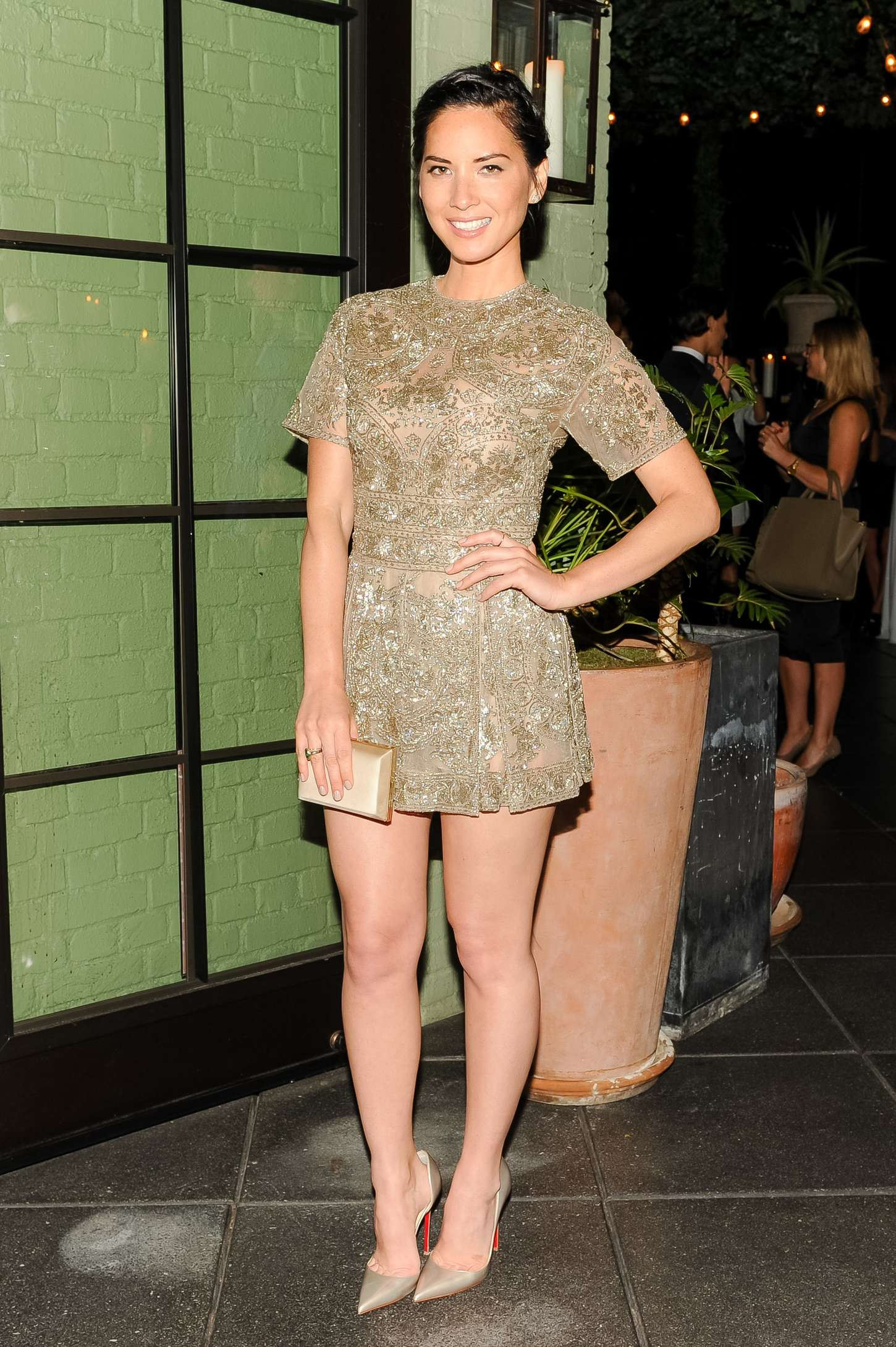 Olivia Munn - The Hollywood Reporter and Micaela Erlanger Celebrate Fashion Week in New York