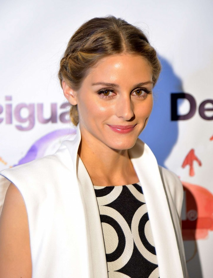 Olivia Palermo - Desigual Fashion Show in NYC