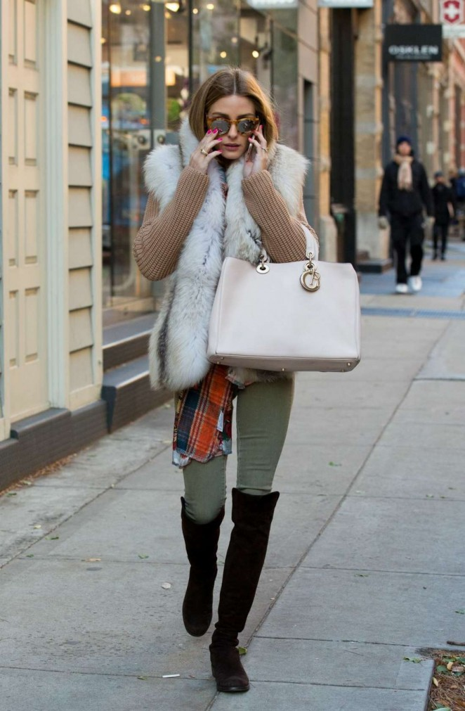 Olivia Palermo - Shopping in NYC