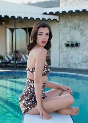 Olivia Thirlby - Claiborne Swanson Frank Photoshoot for 'Young Hollywood' Book 2014