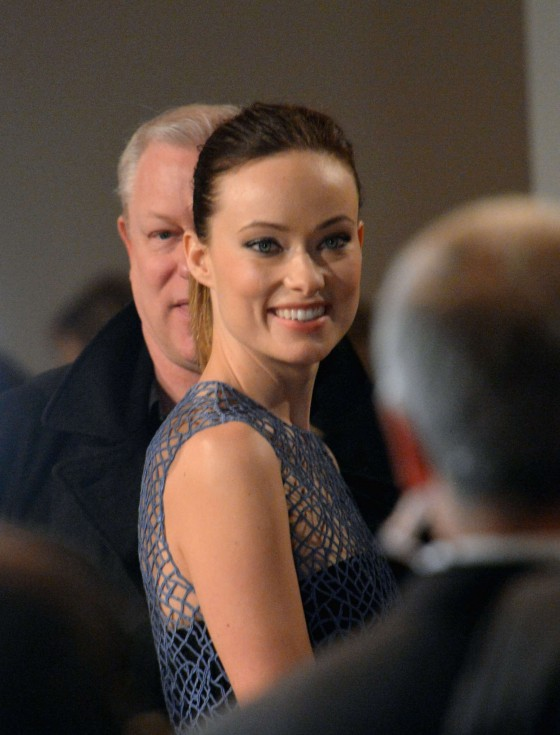 Olivia Wilde at 2013 Calvin Klein fashion show -03