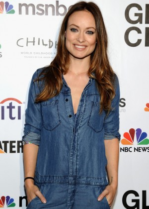 Olivia Wilde - 2014 Global Citizen Festival VIP Lounge in NYC