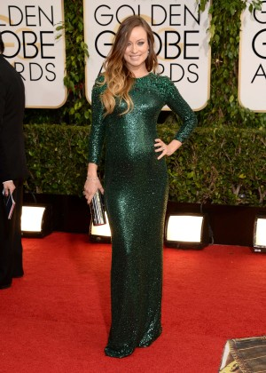 Olivia Wilde: Golden Globe 2014 Awards -01