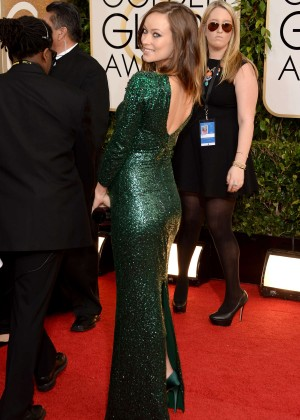 Olivia Wilde: Golden Globe 2014 Awards -02