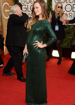 Olivia Wilde: Golden Globe 2014 Awards -03