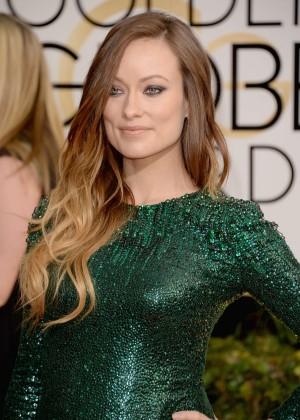 Olivia Wilde: Golden Globe 2014 Awards -04