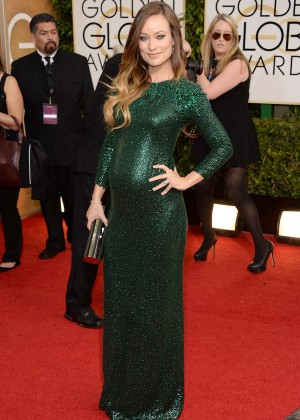 Olivia Wilde: Golden Globe 2014 Awards -05