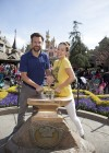 Olivia Wilde at Disneyland in Anaheim -04
