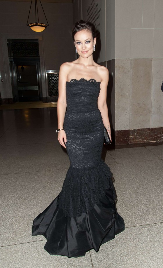 Olivia Wilde - 2012 Museum of Natural History Gala in NY
