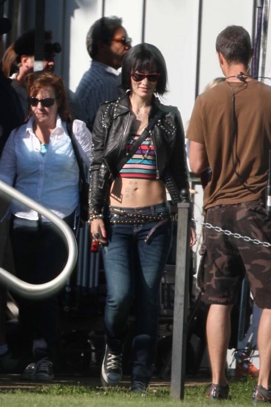 Olivia Wilde – 'Butter' set in LA – 2010