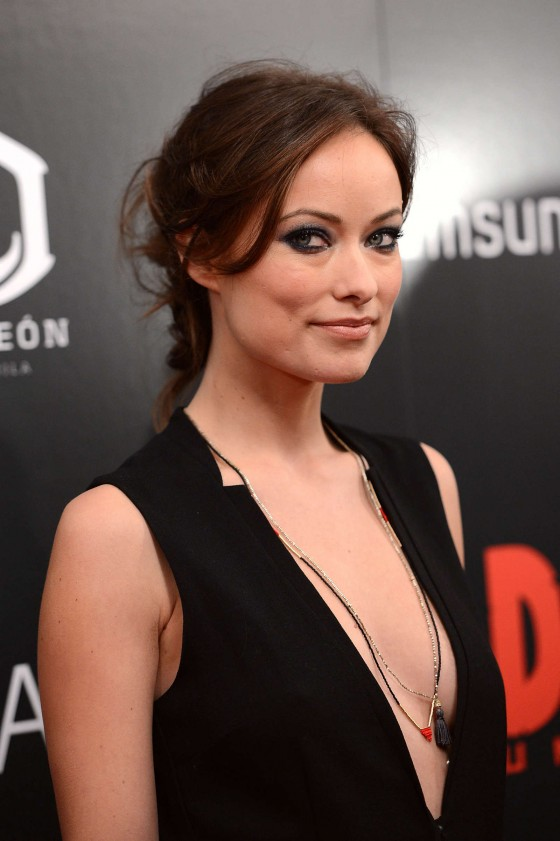 Olivia Wilde at Django Unchained Premiere in New York