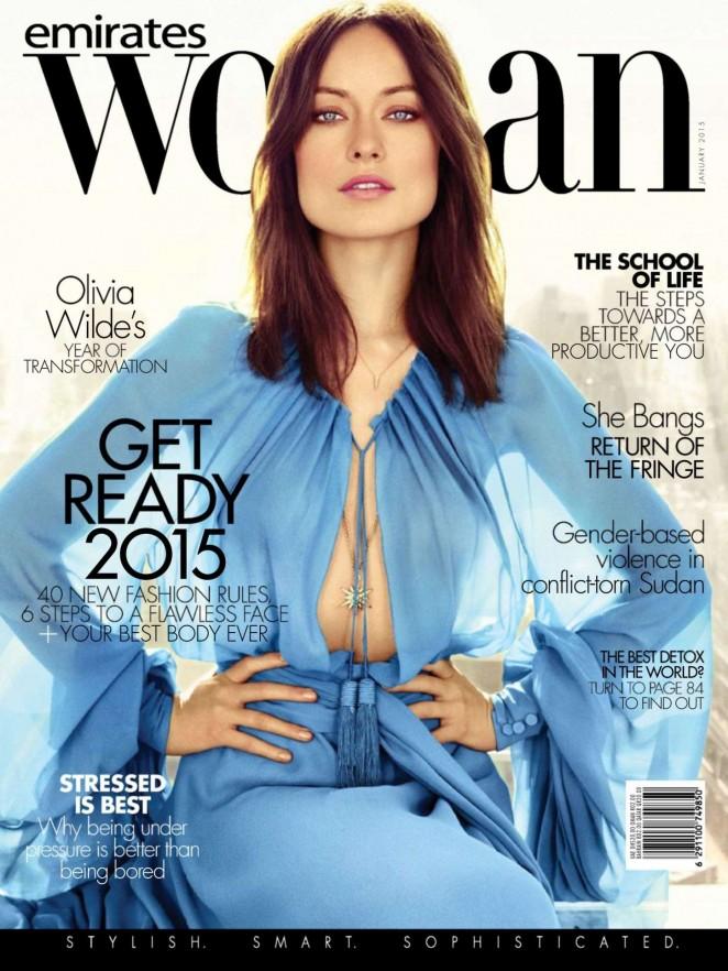 Olivia Wilde - Emirates Woman Magazine (January 2015)