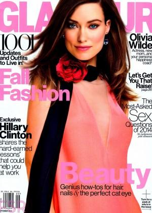 Olivia Wilde - Glamour US Magazine (September 2014)