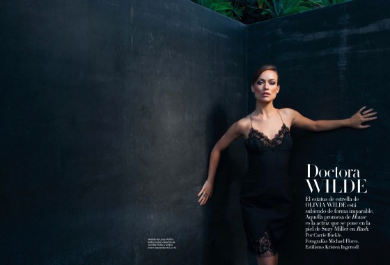 Olivia Wilde – Harpers Bazaar 2013 Spain -03