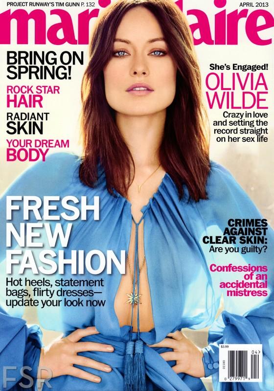 Olivia Wilde – Marie Claire 2013-03