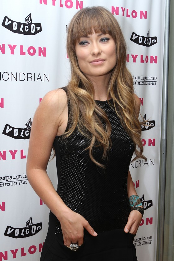 Olivia Wilde – Nylon Magazine Party In LA