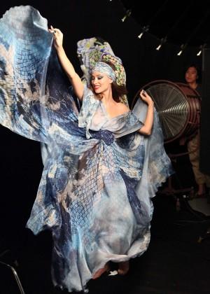 Olivia Wilde - Revlon Boho Chic Campaign 2014