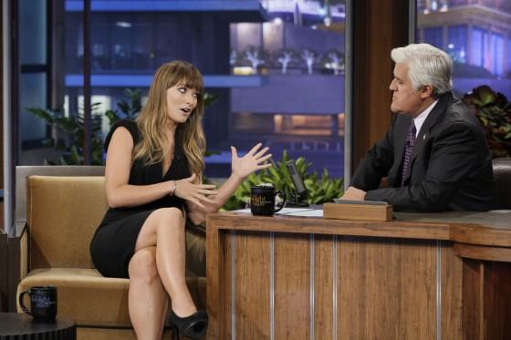 Olivia Wilde – The Tonight Show with Jay Leno 2011