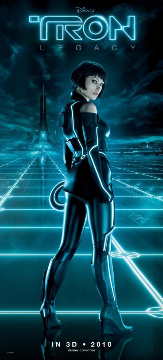 Olivia Wilde – TRON: Legacy poster