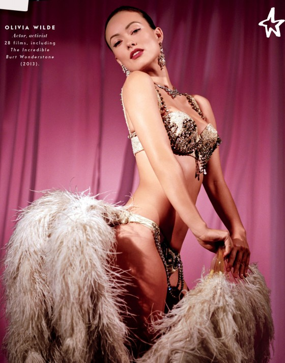 Olivia Wilde in Vanity Fair 2013