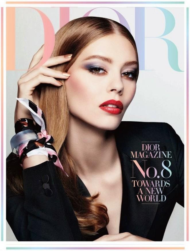 Ondria Hardin - Dior Magazine (Winter 2014)