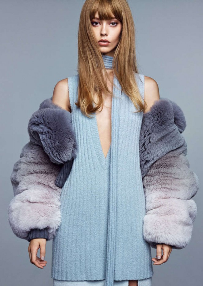 Ondria Hardin - Vogue Magazine (China 2014)