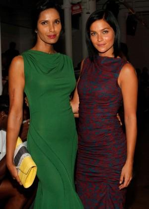 Padma Lakshmi - Costello Tagliapietra Fashion Show in NY