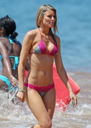 Paige Butcher Hot Bikini Photos: 2014 in Maui -06