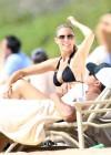 Paige Butcher - Wearing Black Bikini in Maui -19
