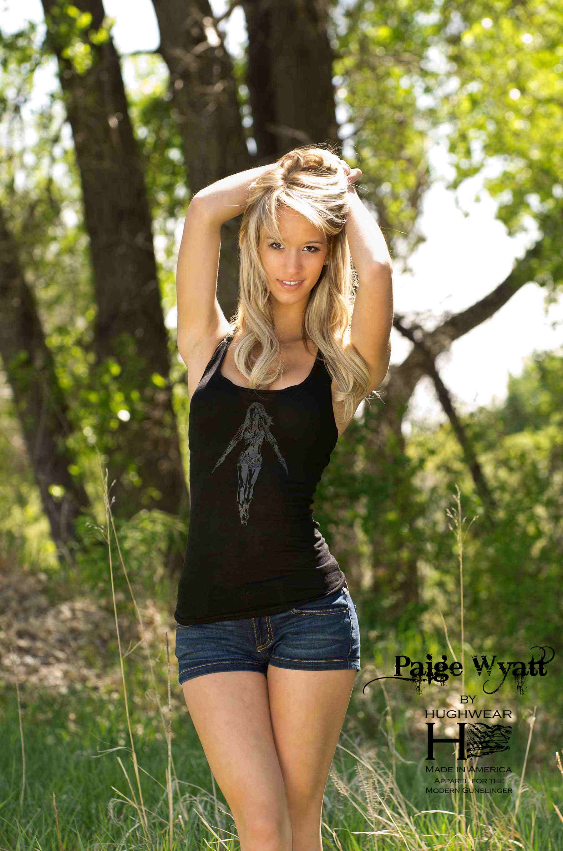 "Back to post Paige Wyatt – ""American Guns"" Photoshoot by Terry ..."