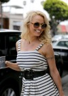 Pamela Anderson at Cafe Luxxe -07