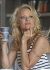 Pamela Anderson at Cafe Luxxe -19