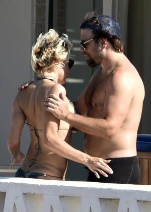 Pamela Anderson: Bikini in Sardinia-30