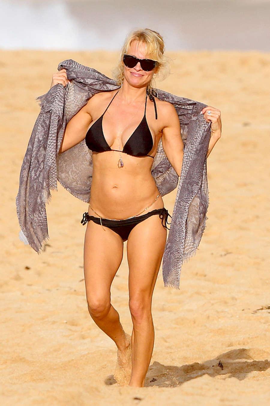 Selfie Bikini Pamela Anderson naked photo 2017