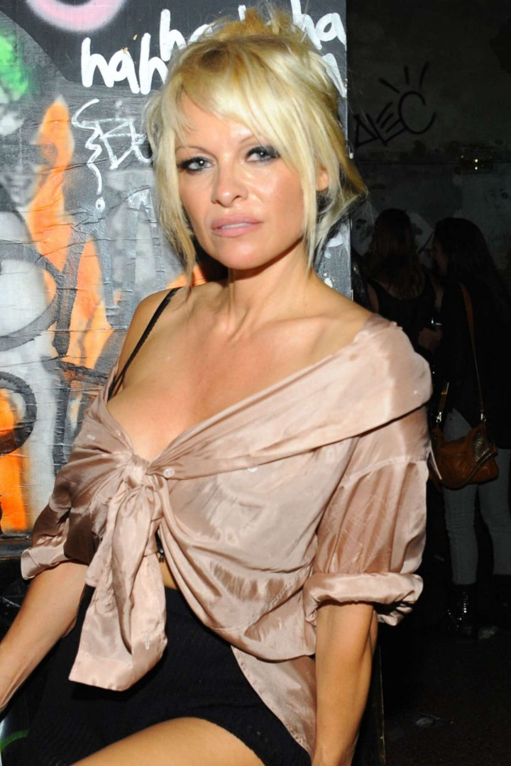 Pamela Anderson - Interview Magazine's September Issue Party in NYC