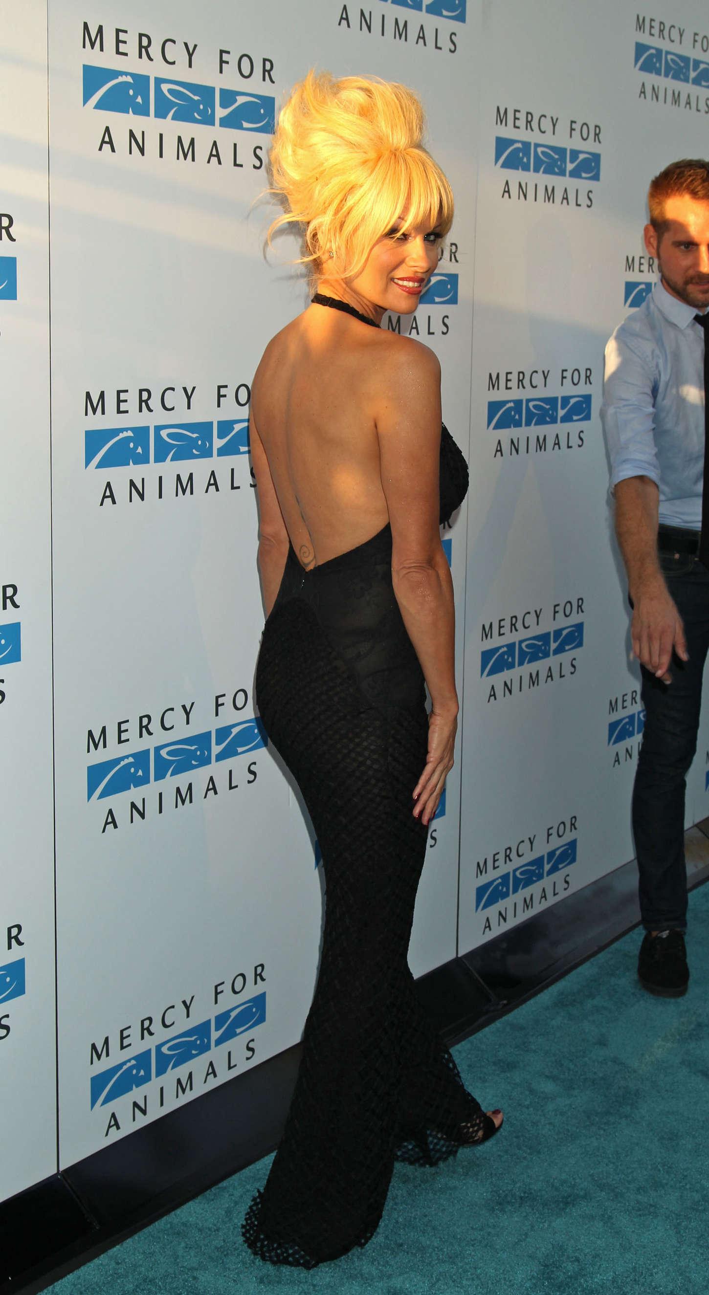 Pamela Anderson: 2014 Mercy For Animals Gala -02 – GotCeleb памела андерсон