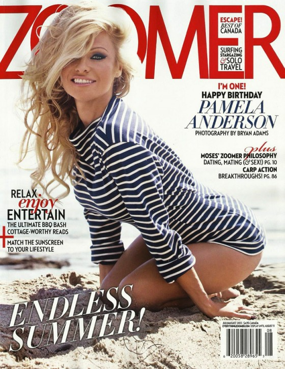 Pamela Anderson - Zoomer Cover-01