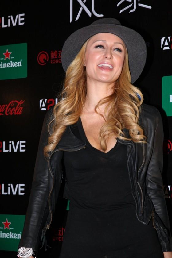 Paris Hilton: 2013 Storm Electronic Music Festival -01