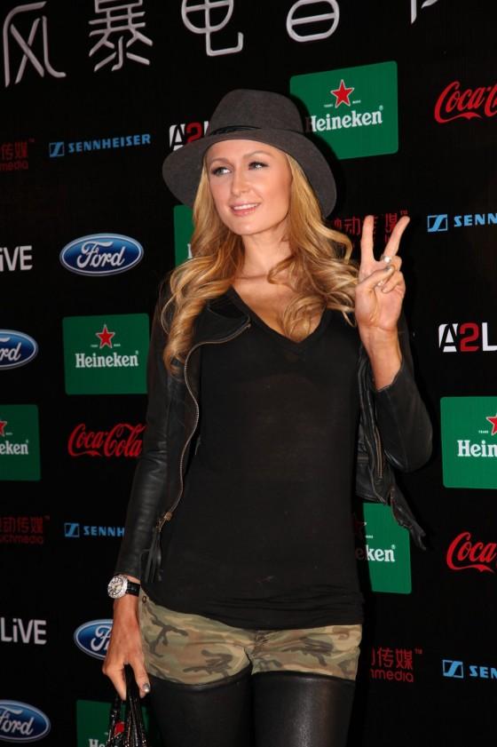 Paris Hilton: 2013 Storm Electronic Music Festival -05
