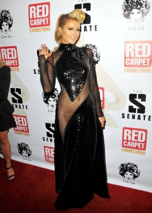 Paris Hilton: Pre Grammy 2014 Photos -01