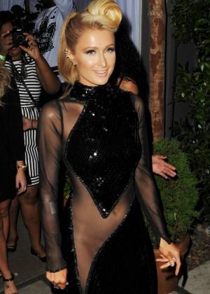 Paris Hilton: Pre Grammy 2014 Photos -03
